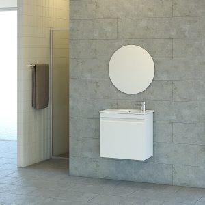 HADAR ארון אמבטיה סנדוויץ תלוי 2 דלתות בצביעת אפוקסי קטן