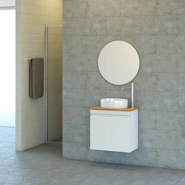 ANNA ארון אמבטיה סנדוויץ תלוי 2 דלתות בצביעת אפוקסי קטן