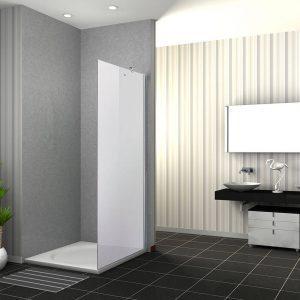 OFER מקלחון דופן קבועה בלבד