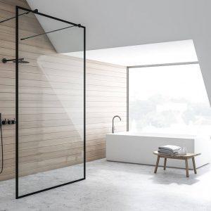מקלחון דופן קבועה בלבד YANA